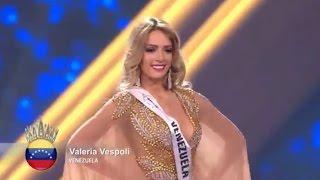 Participación de Valeria Vespoli , Miss Venezuela ,En El Miss Supranational 2016