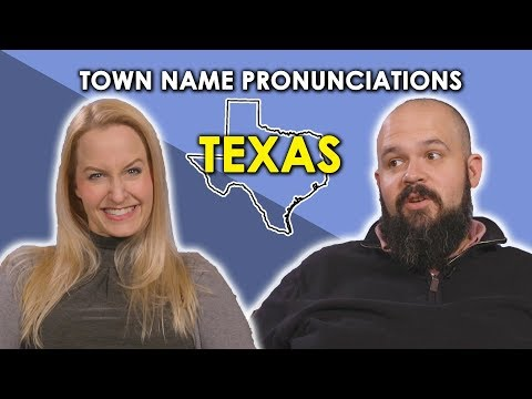 Xxx Mp4 We Try To Pronounce Texas Town Names 3gp Sex