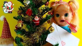 Baby Alive Sophia escreve carta para Papai Noel pedindo Presentes 🎄🎁