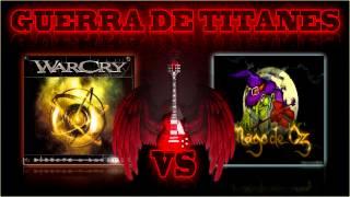 GUERRA DE TITANES: Warcry -VS- Mago de Oz