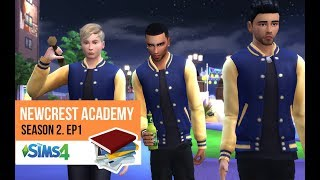 HIGH SCHOOL DRAMA | NEWCREST ACADEMY | SEASON 2. EP. 1 | A Sims 4 Series