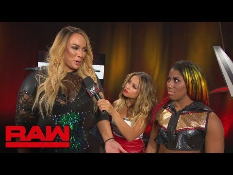 Xxx Mp4 Nia Jax Reminds Ember Moon Who Won At WWE Evolution Raw Oct 29 2018 3gp Sex