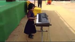 Indian small girl have a superb talent