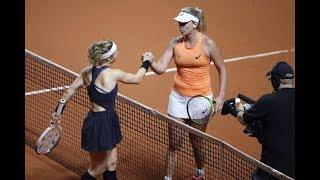 Laura Siegemund vs. CoCo Vandeweghe | Porsche Tennis Grand Prix Second Round | WTA Highlights