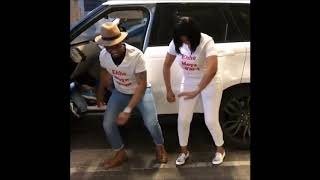 Ayanda Ncwane and her new man on Umoya wami uyavuma dance challenge