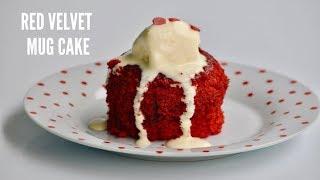 How To Make Easy Red Velvet Mug Cake(NO EGG)     റെഡ് വെൽവെറ്റ് മഗ് കേക്ക്    Ep:521