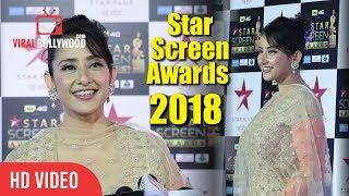 Manisha Koirala At Star Screen Awards 2018 | Star Plus Awards Show 2018