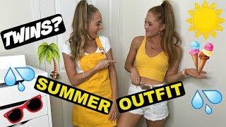 10 minute Fashion challenge   Teagan & Sam
