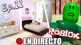 🔴 DIRECTO!! DÍA 11: DECORAMOS LA HABITACIÓN!! | En Vivo Y En Directo (Los Sims 4) + ROBLOX