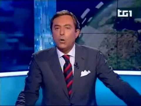 Maha su TG1 Maha on Italian TV first Channel RAI1