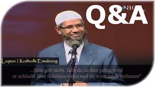 ►Q&A|Meine Frau ist Schiiten!? ┇Wunderschöne Antwort┇Dr.Zakir Naikᴴᴰ Q&A