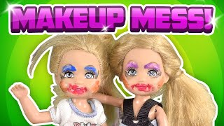 Barbie - Makeup Madness with the Twins | Ep.168