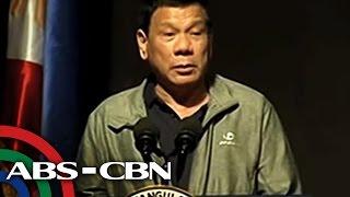 TV Patrol: Duterte, gustong 5-6 katao ang bibitayin kada araw
