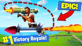 How To RIDE YOUR OWN ROCKET In Fortnite Battle Royale!