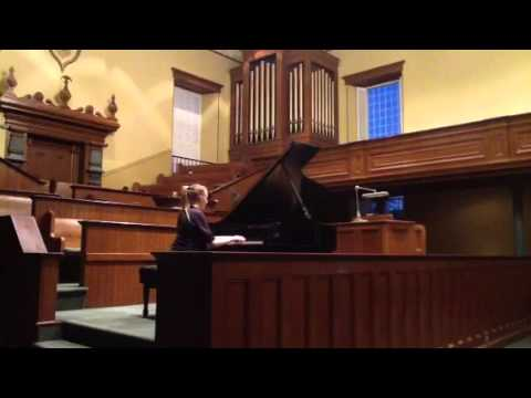 Megan Amundsen performs The Elf and the Fairy by Bently