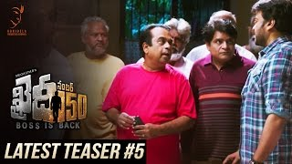 Khaidi No 150 Latest Teaser #5 || Mega Star Chiranjeevi || V V Vinayak || DSP