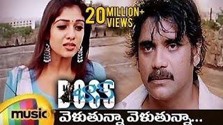 Boss I Love You Songs | Velutunna Velutunna Full Telugu Song | Nagarjuna | Nayanthara | Sunitha