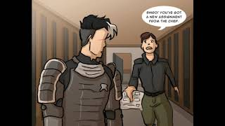 Voltron as avater comic (part 1-2)