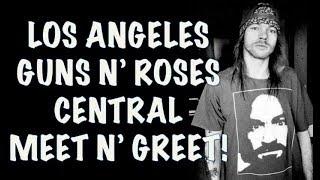 Guns N' Roses Central Los Angeles Meet And Greet! Staples Center November 24, 2017