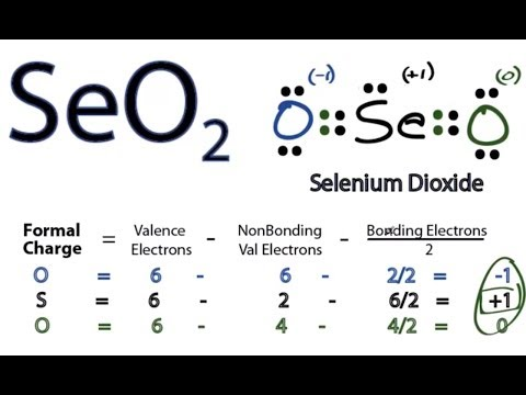 SeO2 Lewis Structure - How to Draw the Lewis Structure for SeO2