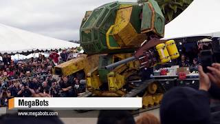 Megabots' Giant Fighting Robot!