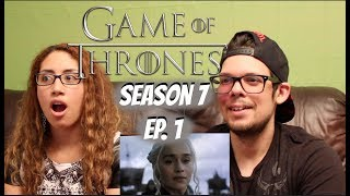 Game of Thrones Season 7 Ep. 1 REACTION!