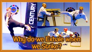 Why do we Exhale when we Strike? | GNT Q&A