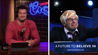 TAX PLAN: Insane Bernie Attacks Trump! | Louder With Crowder