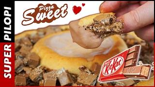 Kit Kat Pizza (Sweet Pizza) - Receta