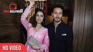 Shraddha Kapoor And Tiger Shroff At Aamir Khan's Diwali Party Celebration