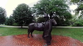 Take a tour of President Lincoln
