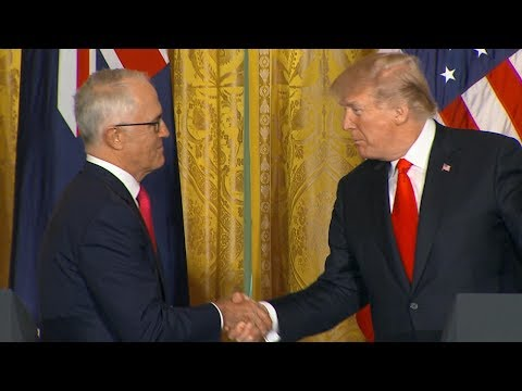 Xxx Mp4 President Donald Trump Australian Prime Minister Turnbull Hold Joint News Conference ABC News 3gp Sex