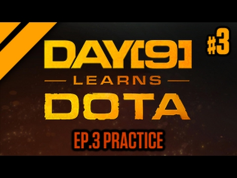 Day[9] Learns Dota - 3. Item Mechanics (Practice)