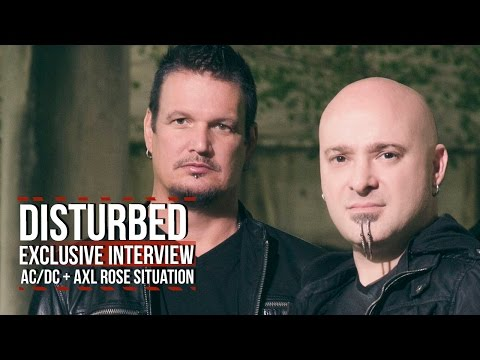 Disturbed Talk Axl Rose + AC/DC and Whether They'd Do the Same
