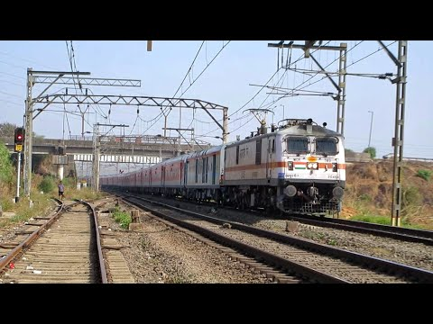 Xxx Mp4 TKD WAP7 With 22222 Mumbai CSMT RAJDHANI EXPRESS Overtakes Mangala Lakshadweep SF Express 3gp Sex