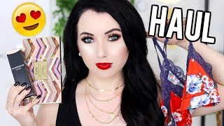 SEPHORA MAKEUP HAUL & FALL CLOTHING! Try On Haul