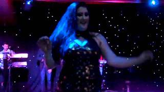 Sabrina dancing Iraqi Style with the Babylon Band in Bradford