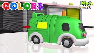 Learn COLORS with CARS for Children - KidsOne