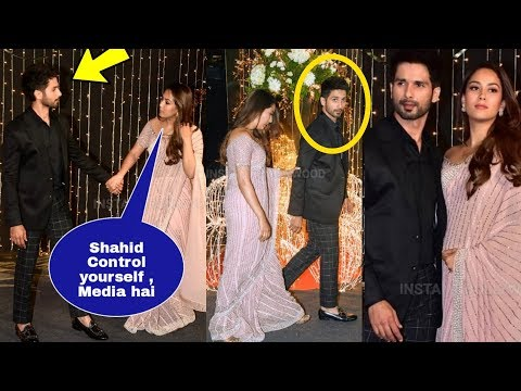 Priyanka's ex bf Shahid Kapoor Drunk and very Sad at her wedding reception !