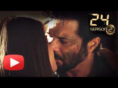 Xxx Mp4 Anil Kapoor Surveen Chawla S Hot Kiss In 24 India Season 2 Colors 3gp Sex