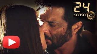 Anil Kapoor & Surveen Chawla's Hot Kiss In 24 India Season 2 | Colors