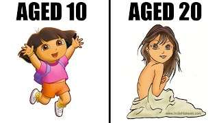 10 KIDS Cartoon Characters Reimagined 10 YEARS LATER!