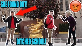 SKIPPING SCHOOL TO GO TO NEW YORK CITY! *CAUGHT*