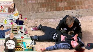 La caída de Sebastián | El que riendo la hace... | Como dice el dicho