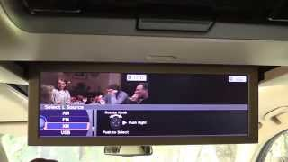 2015 Acura MDX Rear Seat Entertainment System