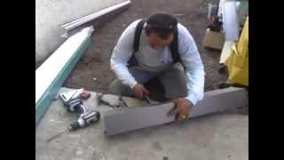 Gutter custom corner on a box gutter 4