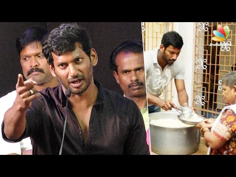 Vishal's Father: Be Hero Not only on Reel But Also in Real | Latest Speech on Neduvasal Protest