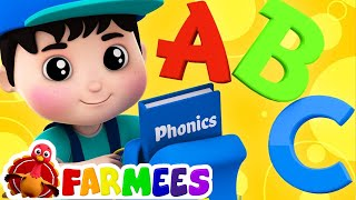Phonics Song   ABC Song   Nursery Rhymes   Kids Songs   Childrens Video by Farmees