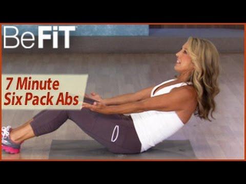 7 Min 6 Pack Abs Workout Denise Austin Abs Waist & Core
