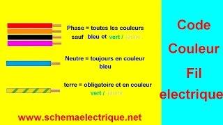 Fabulous Code Couleur Fil Electrique With Couleur Du Neutre En Electricite.